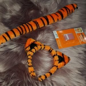 Tiger Ears & Tail